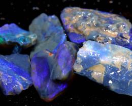 74cts Black Opal Rough Cutters Parcel DT-A4895
