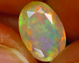 Welo Opal 1.43Ct Natural Ethiopian Play of Color Opal H0204/A44