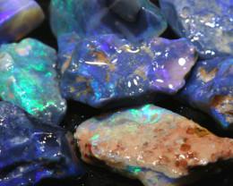 58.80cts Black Opal Rough Cutters Parcel DT-A4906