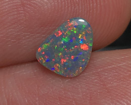 0.84ct Lightning Ridge Black Opal FM393