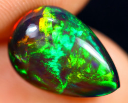 2.45cts Natural Ethiopian Smoked Welo Opal / BF7105