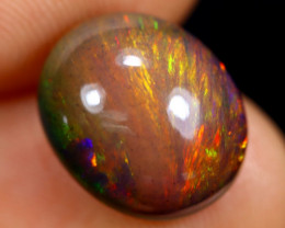 3.14cts Natural Ethiopian Smoked Welo Opal / BF7110