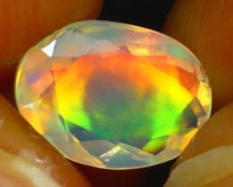 Welo Opal 1.18Ct Natural Ethiopian Play of Color Opal J0303/A44