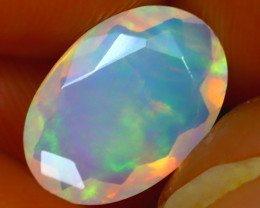 Welo Opal 1.36Ct Natural Ethiopian Play of Color Opal J0304/A44