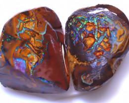 24.12 Carats Yowah Opal Pre Shaped Rough Parcel ANO-1934