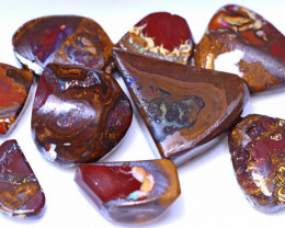 "254.17 Carats Yowah Opal ""pattern"" Rough Parcel ANO-1944"