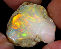 12cts Natural Ethiopian Welo Rough Opal / WR7674