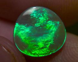 3.2cts super super bright Lightning ridge dark opal, No Reserve