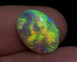 Double Sided 7.93ct Lightning Ridge Crystal Opal FM523