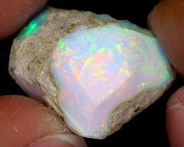 16cts Natural Ethiopian Welo Rough Opal / WR7708