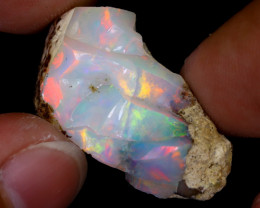 17cts Natural Ethiopian Welo Rough Opal / WR7761