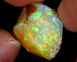 10cts Natural Ethiopian Welo Rough Opal / WR7785