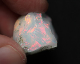 Natural 19ct Ethiopian Welo Rough Opal #REO173