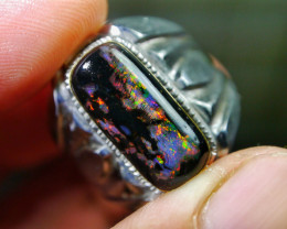 58.75 CT Gorgeous Indonesian Wood Fossil Opal Jewelry Ring