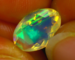 Welo Opal 1.45Ct Natural Ethiopian Play of Color Opal H0804/A44
