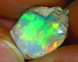 5.81Ct Multi Color Play Ethiopian Welo Opal Rough H0810/R2