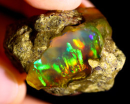 84cts Ethiopian Crystal Rough Specimen Rough / CR4209