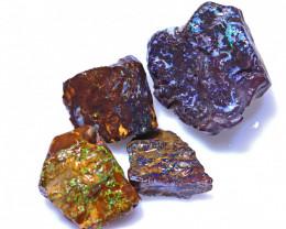 78.19 Carats Jundah Opal Pre Shaped Rough Parcel  ANO-1982