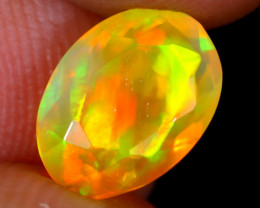 1.58cts Natural Ethiopian Faceted Welo Opal / NY2460
