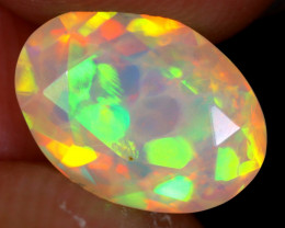 1.90cts Natural Ethiopian Faceted Welo Opal / NY2463