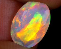 1.37cts Natural Ethiopian Faceted Welo Opal / NY2473
