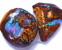 12.71 Carats Yowah Opal Pre Shaped Rough Parcel  ANO-1991
