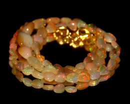 42.60 Crts Natural Ethiopian Welo Opal Nuggets Necklace 156