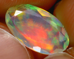 Welo Opal 1.25Ct Natural Ethiopian Play of Color Opal J1104/A44