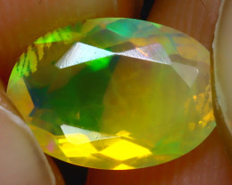 Welo Opal 1.50Ct Natural Ethiopian Play of Color Opal J1106/A44