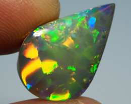 9.30CT AAA TOP GEM HARLEQUIN PATTERN PIPE OPAL MK147