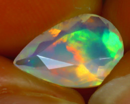 Welo Opal 1.36Ct Natural Ethiopian Play of Color Opal H1203/A44