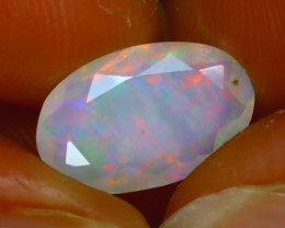 Welo Opal 1.77Ct Natural Ethiopian Play of Color Opal H1204/A44