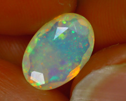 Welo Opal 1.56Ct Natural Ethiopian Play of Color Opal H1205/A44