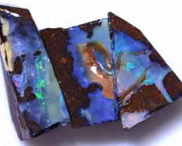 21.63 Carats Boulder Opal Pre Shaped Rough Parcel ANO-1995