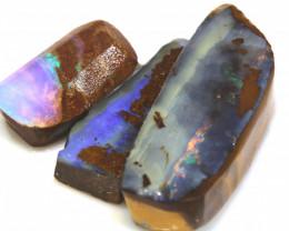 51.00 cts boulder opal pre-shaped rub parcel ado-8828