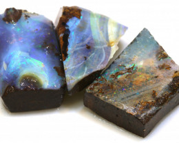 48.00 cts boulder opal pre-shaped rub parcel ado-8830