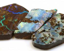 46.35 cts boulder opal pre-shaped rub parcel ado-8834