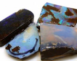 68.00 cts boulder opal pre-shaped rub parcel ado-8840