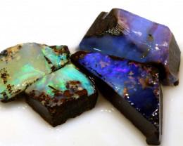 31.25 cts boulder opal pre-shaped rub parcel ado-8848