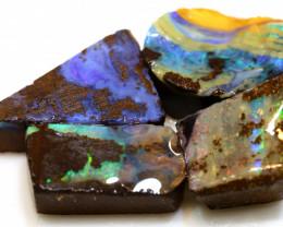 32.65 cts boulder opal pre-shaped rub parcel ado-8849