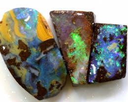 18.50 cts boulder opal pre-shaped rub parcel ado-8871