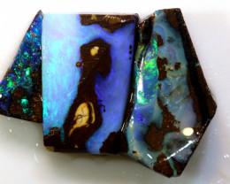 18.70 cts boulder opal pre-shaped rub parcel ado-8884
