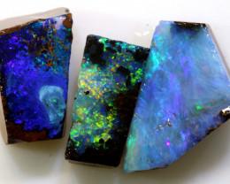 9.35 cts boulder opal pre-shaped rub parcel ado-8886