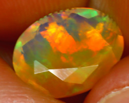 Welo Opal 2.00Ct Natural Ethiopian Play of Color Opal H1601/A44