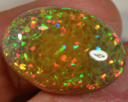 22 CT - AMAZING NATURAL DARK CELLED WELO OPAL CABACHON-