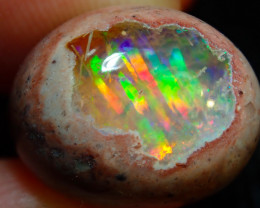 15.23ct Mexican Matrix Cantera Multicoloured Fire Opal
