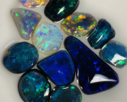 Bling* Opal Rubs 13.5 CTs  [Many more No Reserves, See below]