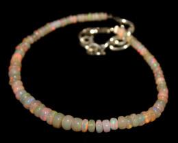 14 Crts Natural Ethiopian Welo Opal Beads Bracelet 163