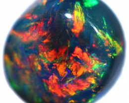 1.98 CTS BLACK OPAL STONE-FROM LIGHTNING RIDGE - [LRO2277]