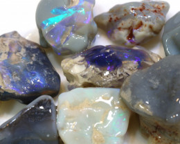 63cts lightning ridge opal rough parcel ADO-8898-ADOPALS